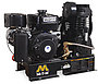 Mi-T-M Air Compressors 30-Gallon, ABS Series, Simplex Base Mounted ABS-14S-B