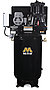 Mi-T-M Air Compressors 80-Gallon, ACS Series, Simplex Tank Mounted Vertical M Series ACS-23105-80VM