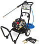 pressure washer disinfectant mister combination
