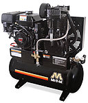 two stage gasoline air compressor