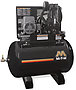 Mi-T-M Air Compressors 80-Gallon, AAS Series, Simplex Tank Mounted Horizontal AAS-23105-80H