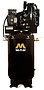 Mi-T-M Air Compressors 80-Gallon, AAS Series, Simplex Tank Mounted Vertical AAS-23305-80V