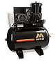 Mi-T-M Air Compressors 80-Gallon, ACS Series, Simplex Tank Mounted Horizontal ACS-20375-80H