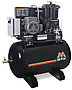 Mi-T-M Air Compressors 80-Gallon, ACS Series, Simplex Tank Mounted Horizontal M Series ACS-46375-80HM