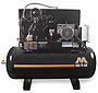 Mi-T-M Air Compressors 120-Gallon, ADS Series, Simplex Tank Mounted Horizontal M Series ADS-20310-120HM