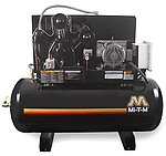 120 gallon two stage air compressor